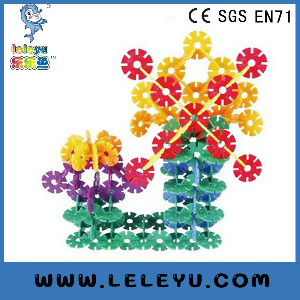 2016 new plastic interlocking toy blocks