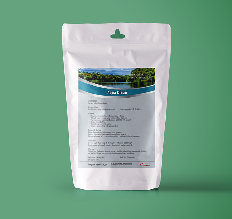 Remediation solution to maintain pond water quality