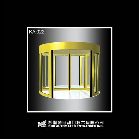 KA022 automatic revolving door