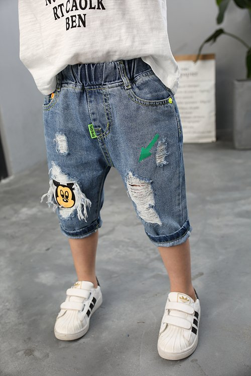 Crop Jeans for Boys on Sale Manufacture