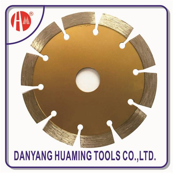Danyang factory high quality tile and marble power tool segmented diamond saw blade for masonry,bric