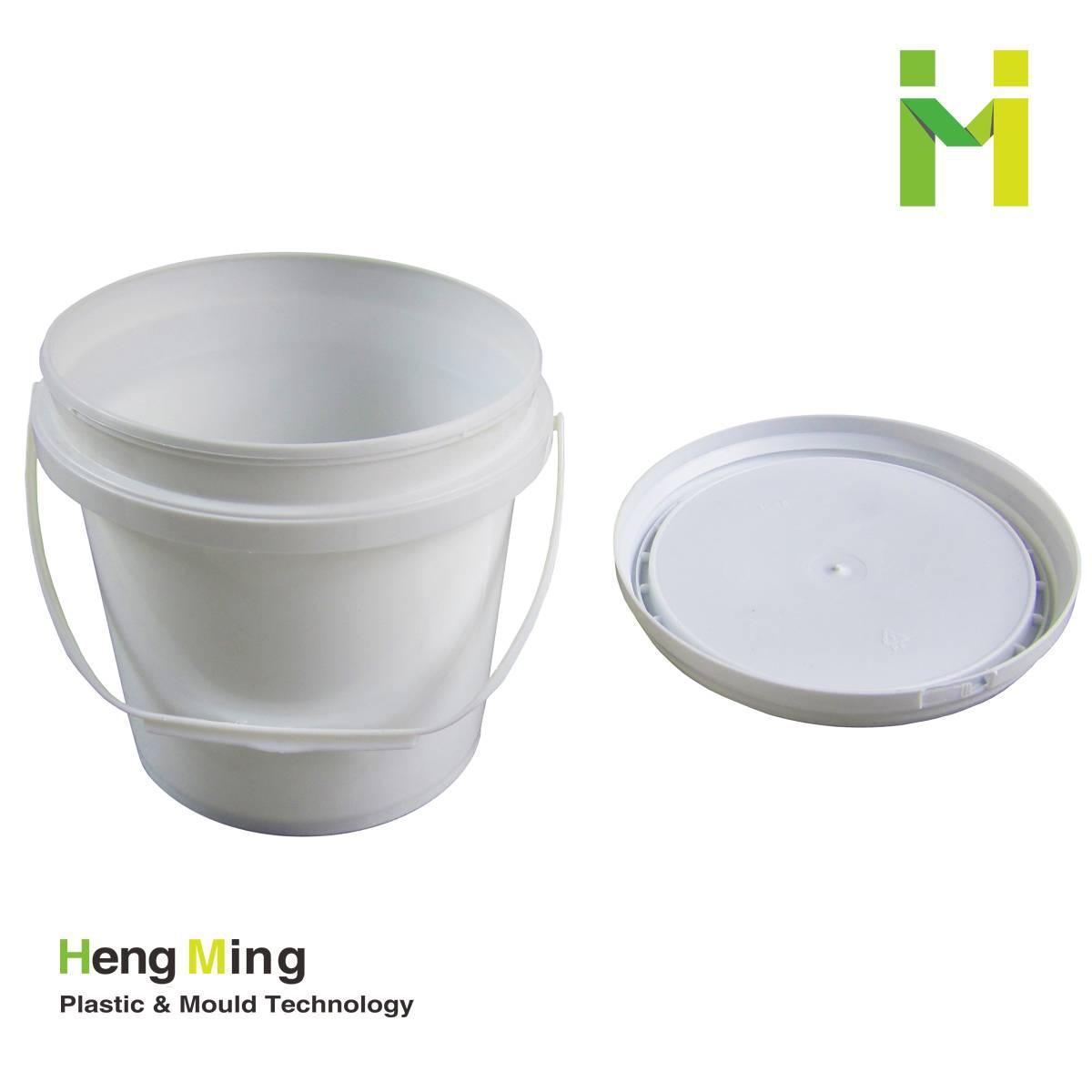 3L food storage plastic pail