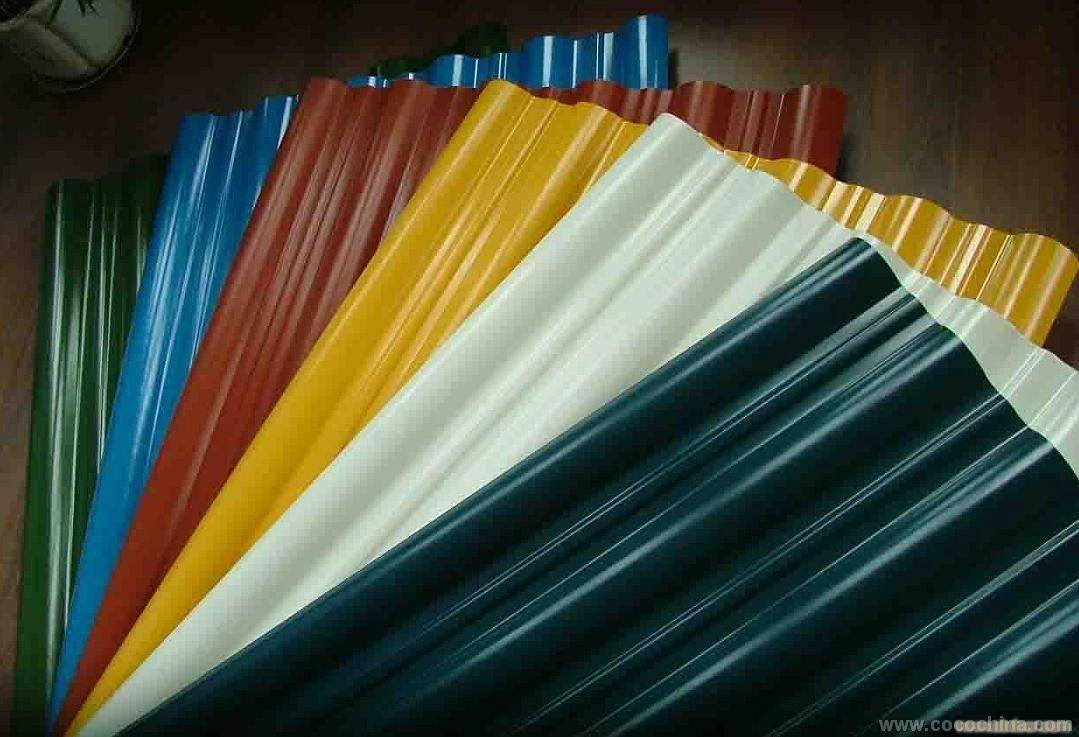 prepainted galvanized corrugated steel roofing sheets
