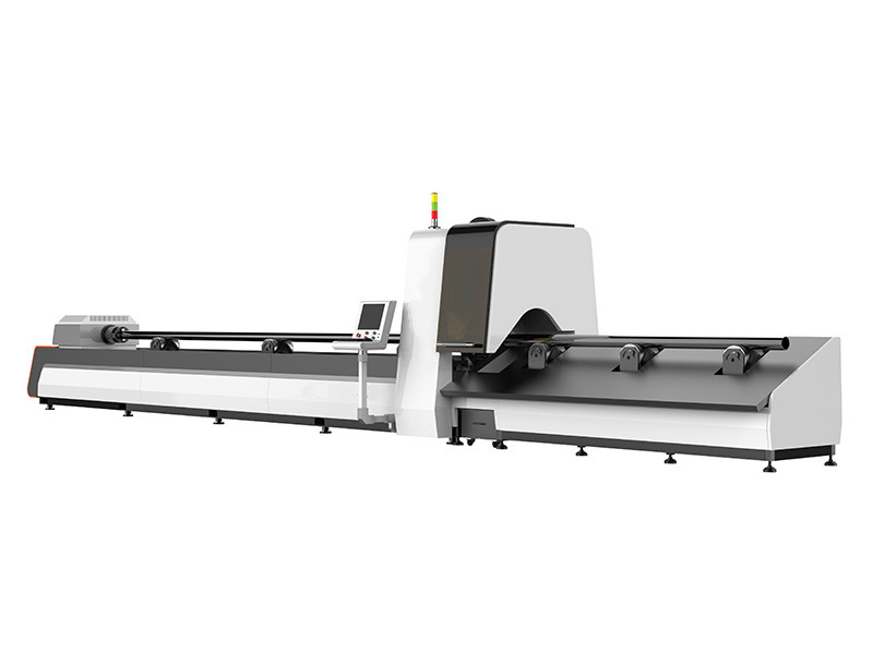 China Steel Tube CNC Fiber Laser Cutting Machine with Factory Price