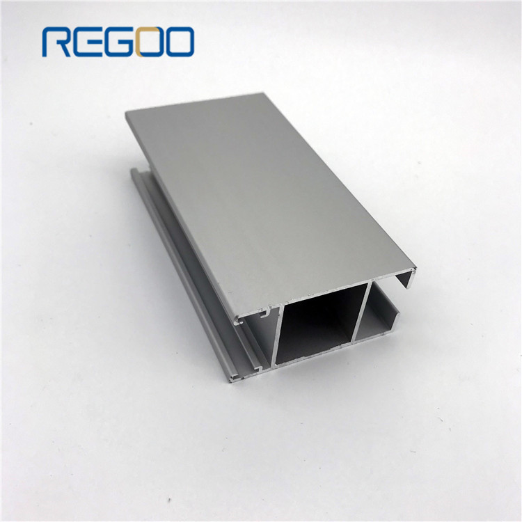 Bright Anodized Extrude Aluminium Door Profiles for Sliding Door and Glass Door