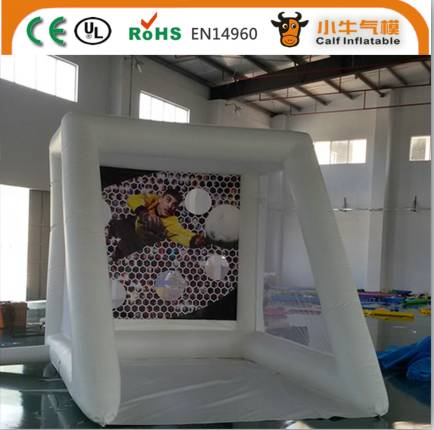 Factory direct sale new design inflatable movie screen
