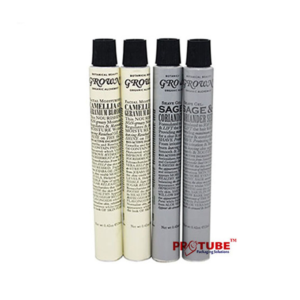 Hot selling aluminum tube for hand cream cosmetic packaging