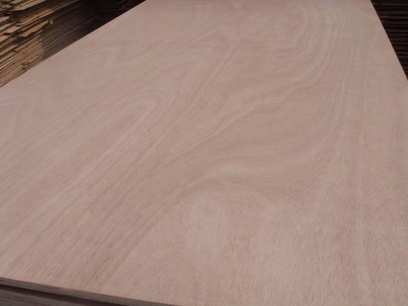Okoume Plywood for Furniture E1 glue