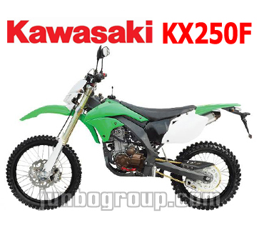 Dirt Bike EEC/COC 250cc Kawasaki KX250F On Road Motocross