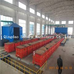 High productivity lost foam casting machines