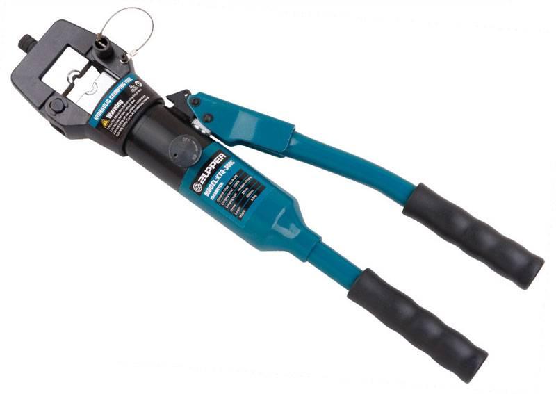 Hydraulic crimping tool Safety system inside KYQ-300C