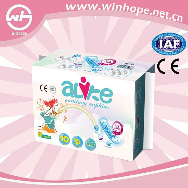 Winhope lady anion sanitary napkin good supplier available with competitive price