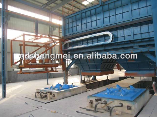 """v process""/vacuum technology foundry equipment Brand Sandry"