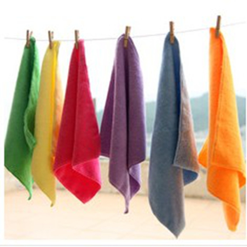Microfiber clean towels / microfiber dish towels / microfiber cloth