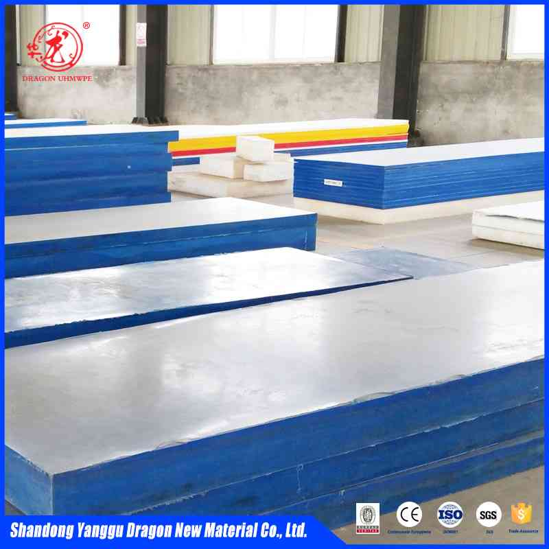 wear resistant uhmwpe hdpe sheet liner for bunker