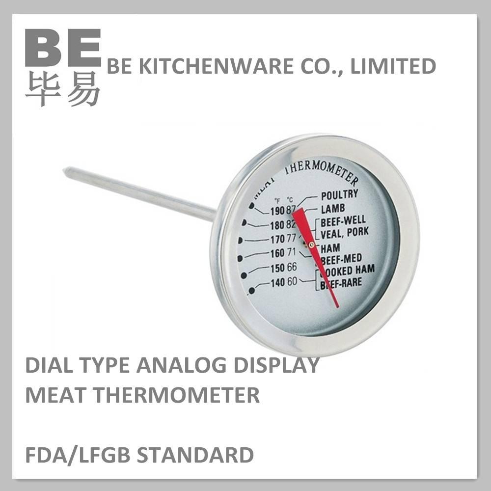 Bimetal instant read grill bbq thermometer