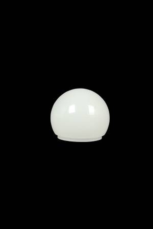 PCA60 plastic LED round white coated lamp cover