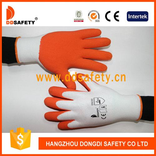 White nylon with orange latex-DNL212