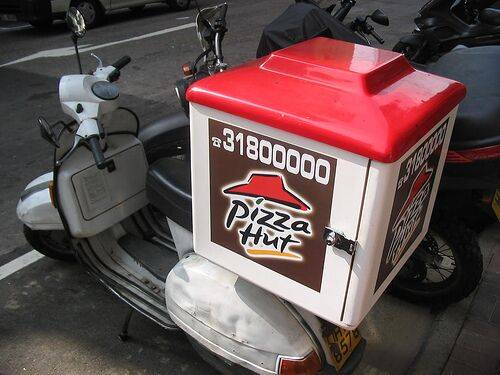 Pizza Hut delivery box (Modification AND OEM are accepted)