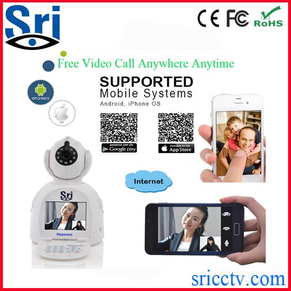 Sricam SP003 battery powered video call video phone camera security camera wireless