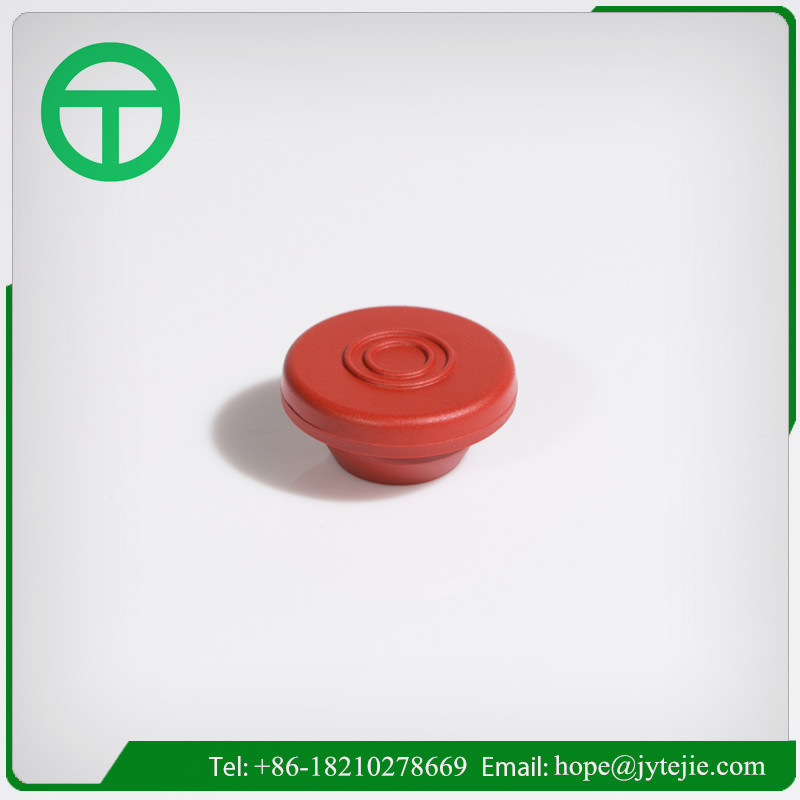 Red rubber stopper