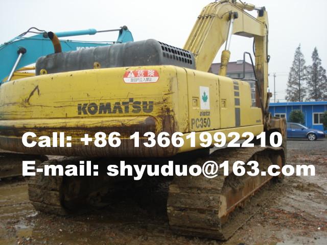 Used Komatsu PC350-6 Crawler Excavator