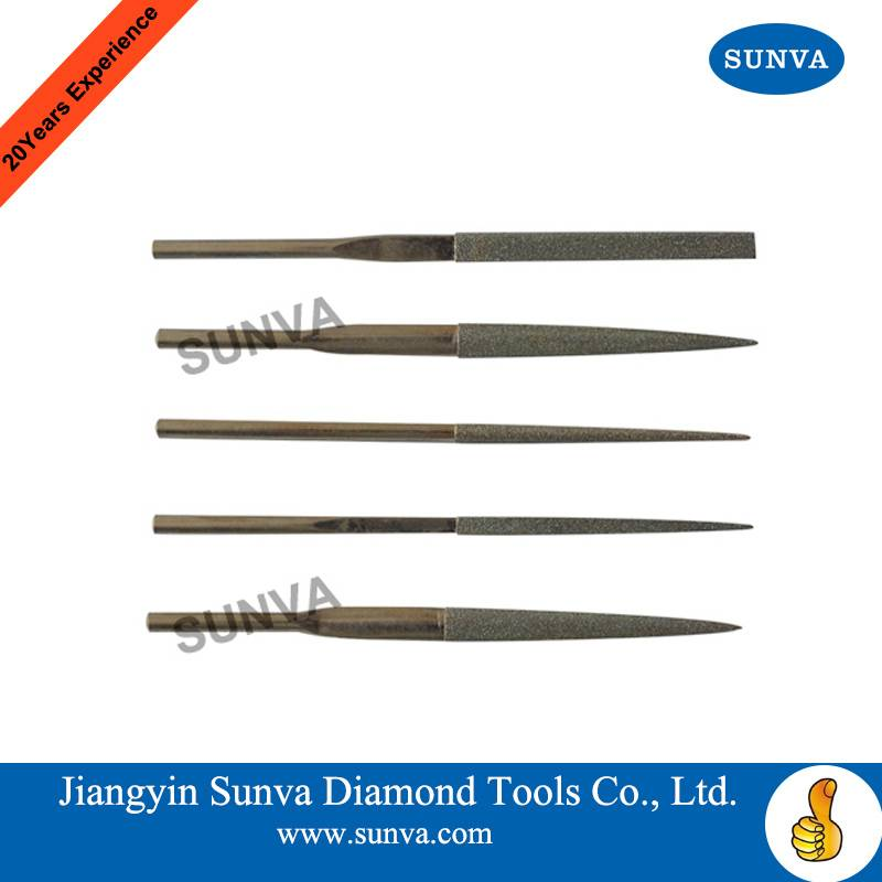 SUNVA Diamond Machine Files / Diamond Files