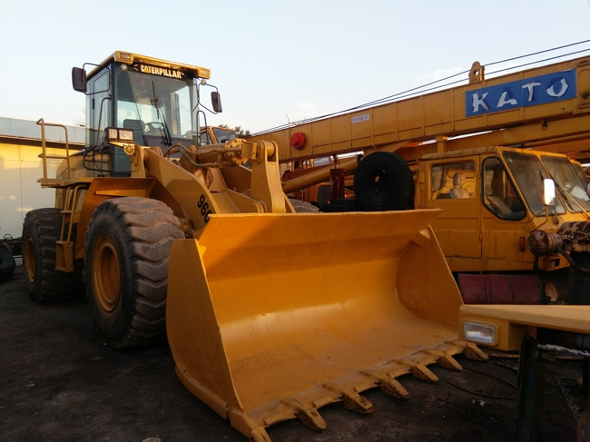 used caterpillar wheel loader 966g on sale for engineering and construction