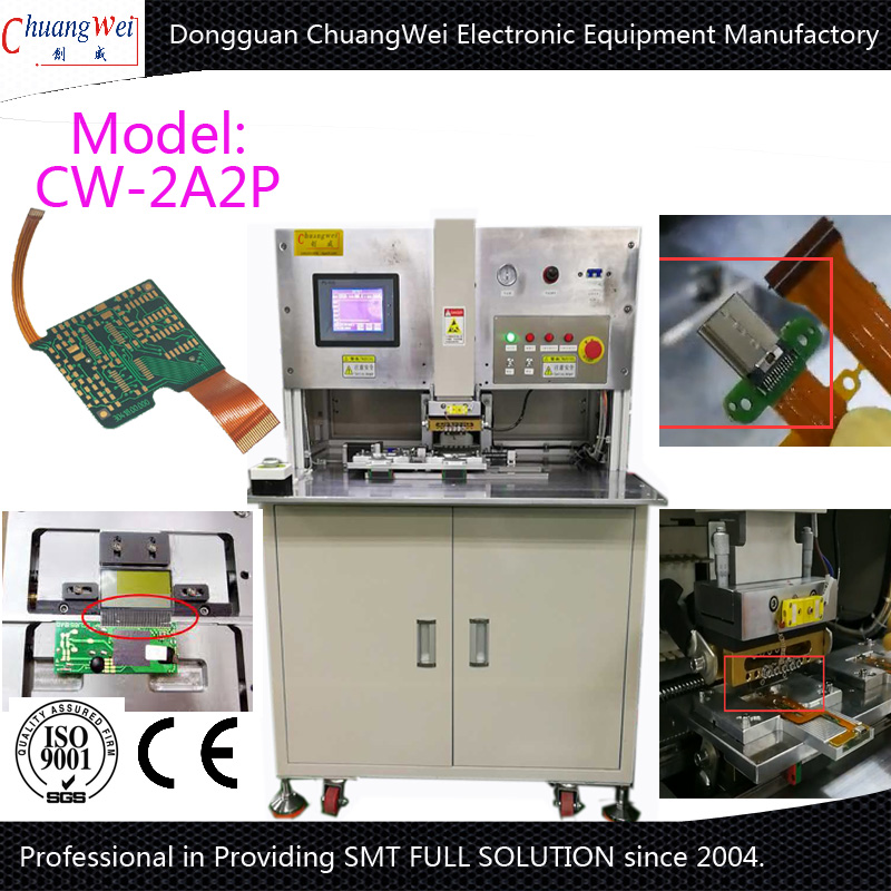 FPC to PCB Welding Machine In China,CW-2A2P