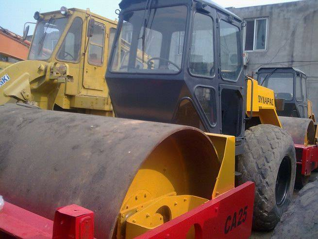 used road roller DYNAPAC CA25