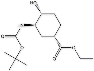 Ethyl(1S,3R,4R)-3-((tert-butoxycarbonyl)amino)-4-hydroxycyclohexane-1-carboxylate