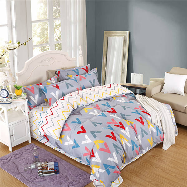 Printed Bed Linen Set Duvet Cover, Beautiful Bed Sheet Sets, Custom Bed Cover Set