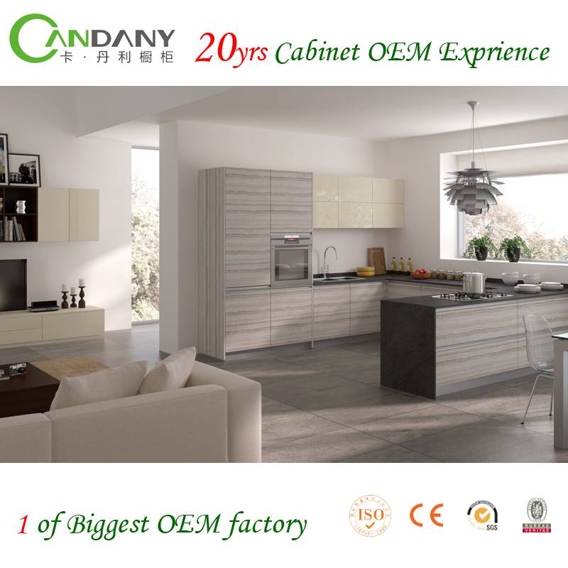 20 Yrs in OEM/ODM Most Eco-friendly Acrylic Kitchen Cabinet