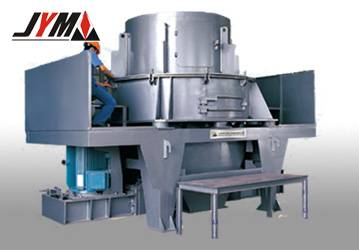 vertical shaft impact crusher for cobble and rock