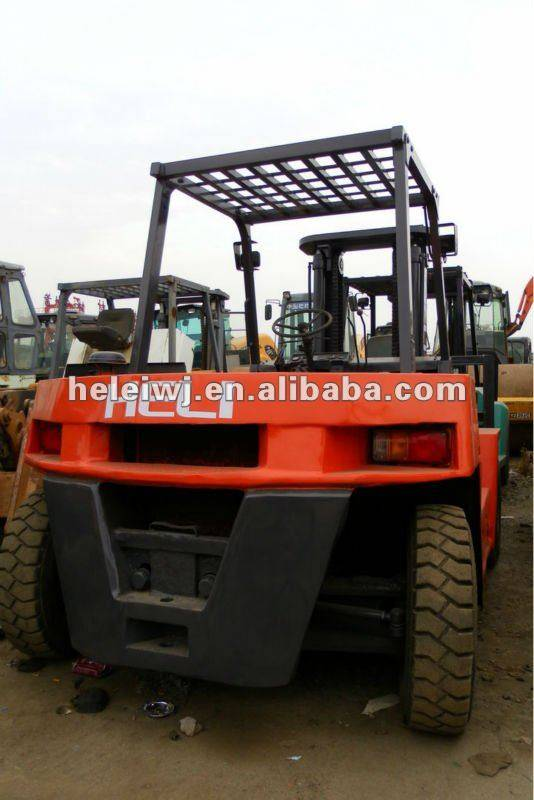 USED HELI CECD80 FORKLIFT