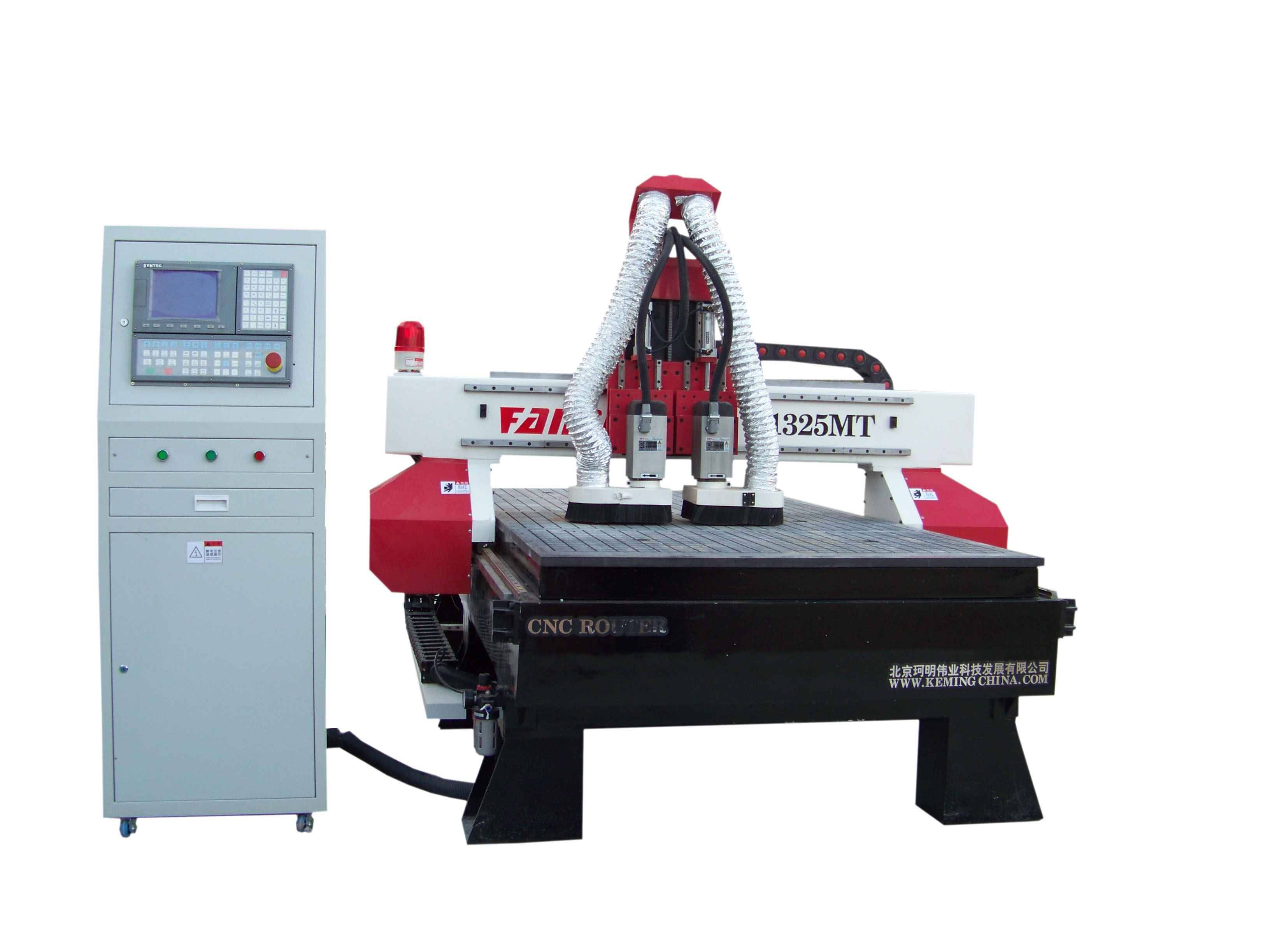 cnc router with ac servo motor