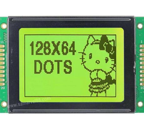 128×64 LCD