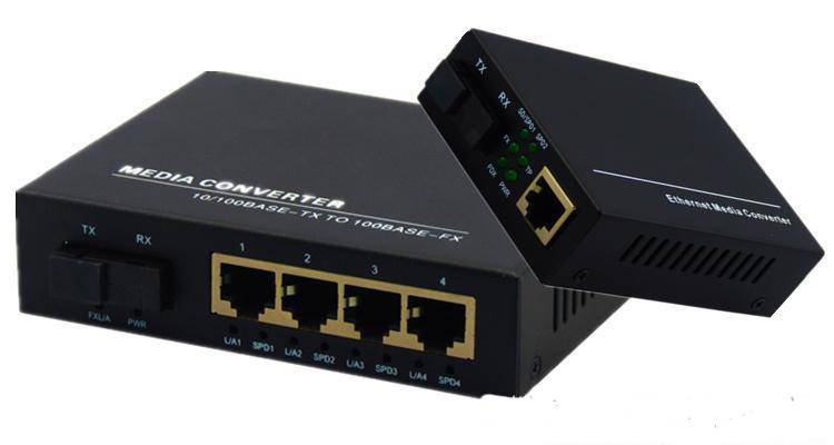 fiber optic ethernet media converter