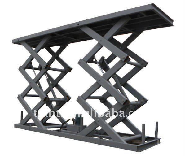 Equipments producing stationary scissor lift platform for car parking