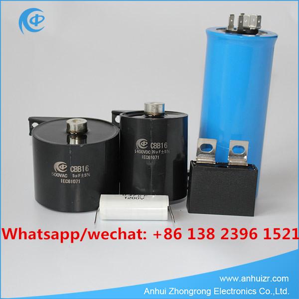 Welder Capacitor Welding Inverter Capacitor Metallized Polypropylene Capacitor