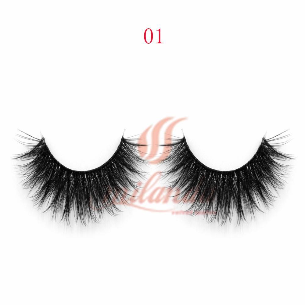 3D100% silk eyelashes