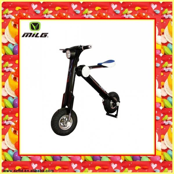 Most Popular Shenzhen foldable Bicycle electric scooter , electric personal transporter , fashion fo