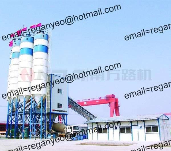 HSR Concrete Mixing Plant