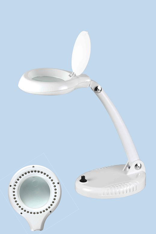 Rechargeable Magnifying Lamp Table Magnifier(8612AM)