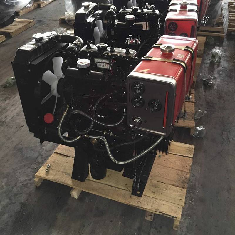 30hp 2 cylinder hydraulic pump diesel engine