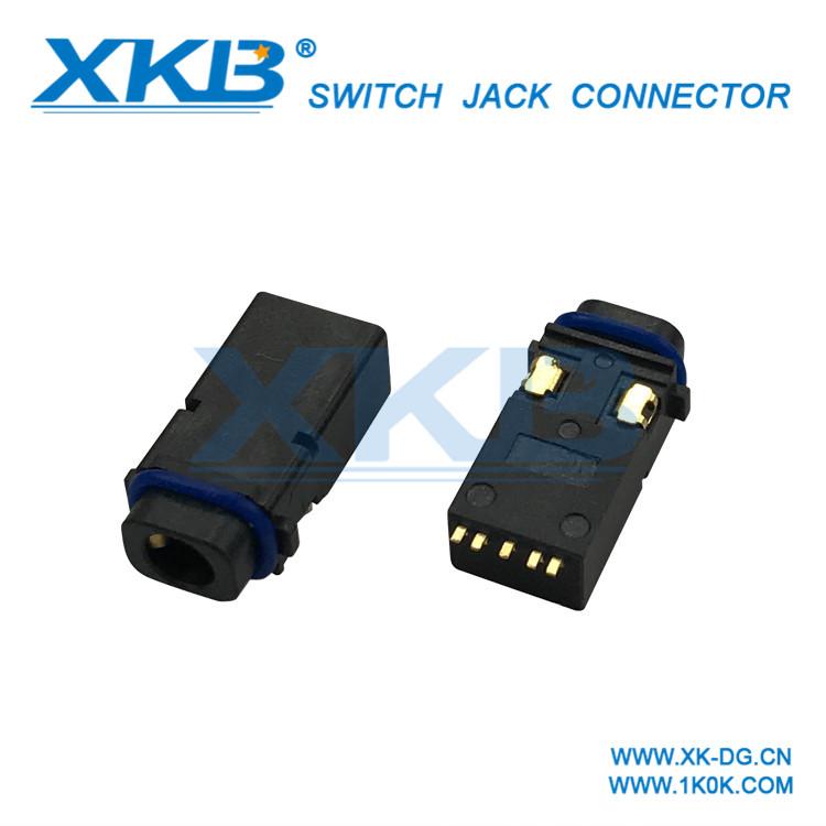 Factory direct 3.5 headphone jack 3.5 headphone audio socket patch type
