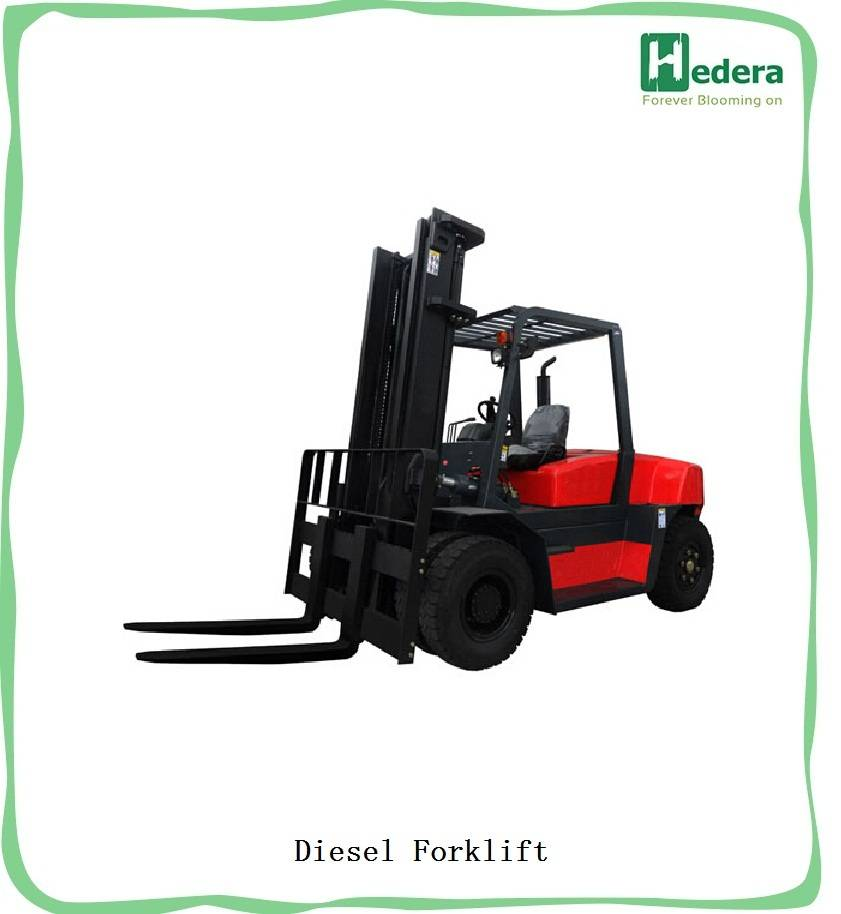 2.5Ton 4WD Off-road Rough Terrain Forklift With Tier 3 Engine