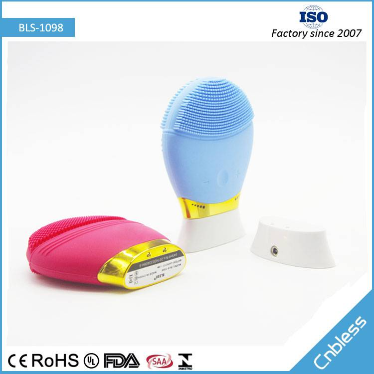 Wireless Charging Silicone Cleaning Skin Device