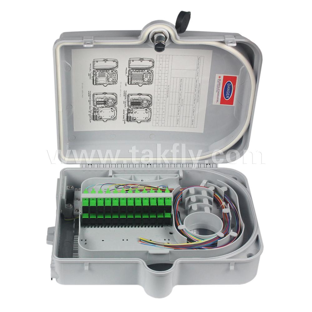 24 Cores SC, LC Fiber Optic Termination Box