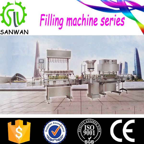 2015 new electric automatic filling machine series with CE